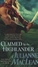 Claimed by the Highlander_cover
