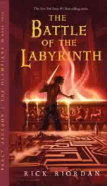 Percy Jackson and the Olympians: The Battle of the Labyrinth .pdf_cover