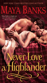 Never Love a Highlander_cover