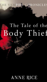 The Tale of the Body thief _cover