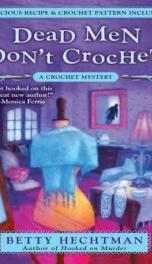 Dead Men Don't Crochet_cover