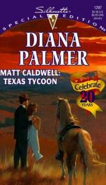 Matt Caldwell: Texas Tycoon_cover