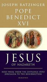 Pope Benedict XVI  _cover
