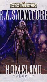 Forgotten Realms Dark Elf Trilogy 1 Homeland_cover