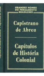 Capítulos da História Colonial _cover