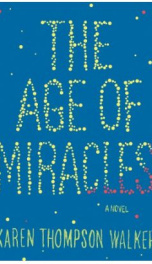The Age of Miracles _cover