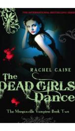 The Dead Girls Dance - Morganville Vampires_cover