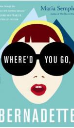 Where'd You Go, Bernadette  _cover