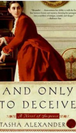 And Only to Deceive  _cover