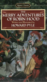 The Merry  Adventures of Robin Hood _cover