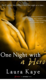 One Night With a Hero  _cover