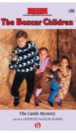 Boxcar Children #36 Castle Mystery_cover