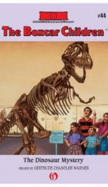 Boxcar Children #44 Dinosaur Mystery_cover