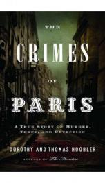 Crimes of Paris _cover