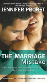 The Marriage Mistake  _cover