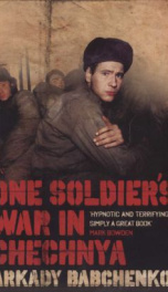 One Soldiers War in Chechnya _cover