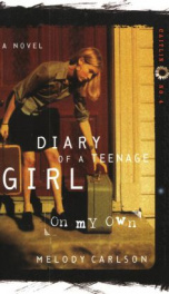 On My Own (Diary of a Teenage Girl, Caitlin 4)_cover