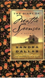The Diary Of Mattie Spenser    _cover