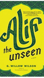 Alif the Unseen _cover