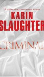 Criminal  _cover