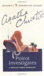 Poirot investigates  _cover