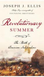 Revolutionary Summer _cover