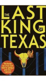 The Last King of Texas  _cover