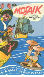 Mosaik - Digedags - 004 (1956-09) - Im Kampf gegen Piraten_cover