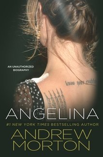 News cover The  biography of Angelina Jolie's writen  by Andrew Morton