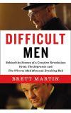 News cover Difficult Men by Brett Martin